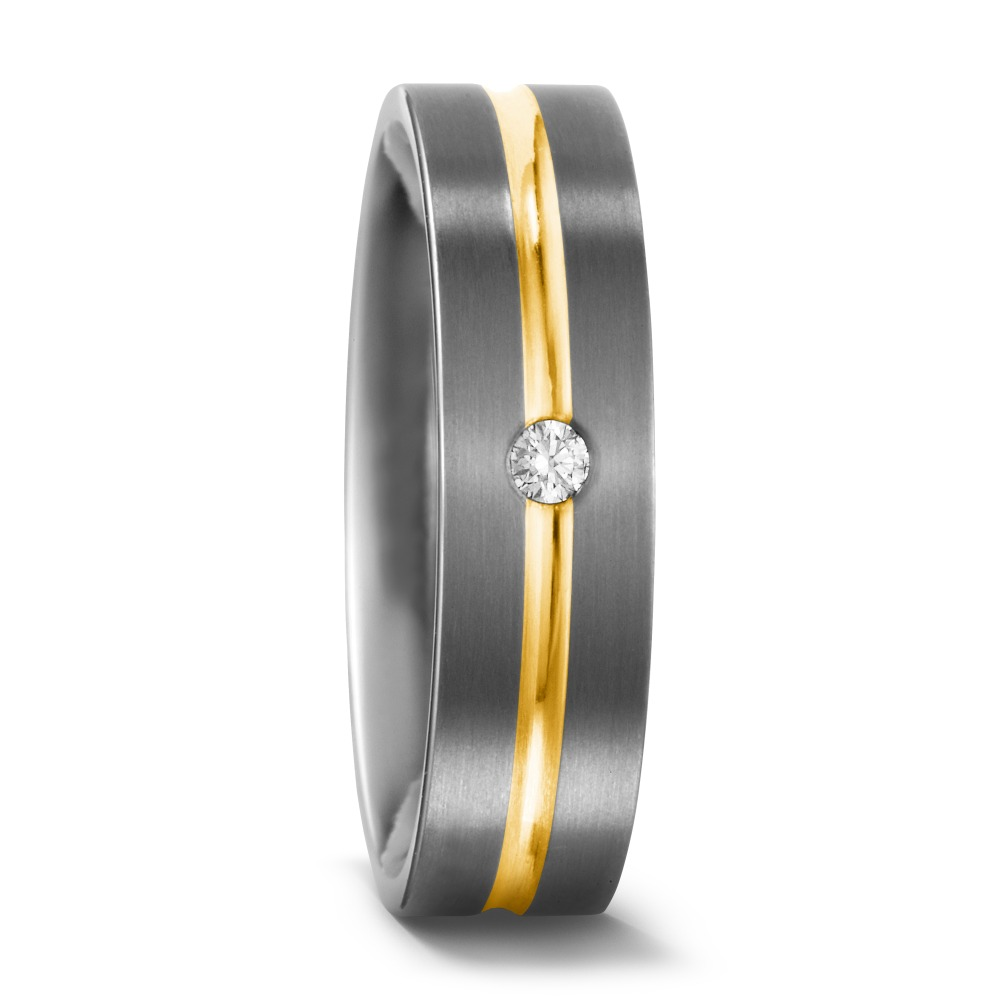 Partnerring Titan Diamant